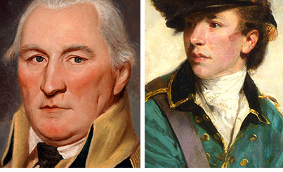 Daniel Morgan and Banstre Tarleton